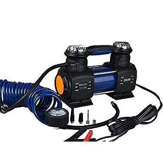 yihengya Yihya 300W 12V 23.5A Multifunktional Portabel Auto Fahrzeug Tire Inflator Air Compressor Kompressor Luftpumpe mit LED-Licht Präsentiert von Auto Lagerung Batterie