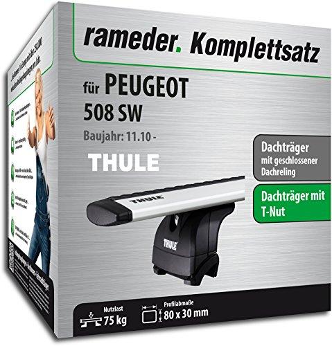 Rameder Komplettsatz, Dachträger WingBar für Peugeot 508 SW (114810-09013-1)
