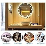 MENGZHEN 10 STÜCKE / 1 Satz LED Kosmetikspiegel Lichter Kit für Make-Up Schminktisch Vanity Set Spiegel mit 10 Dimmbare Glühbirnen (Spiegel Nicht enthalten) Size Europlug