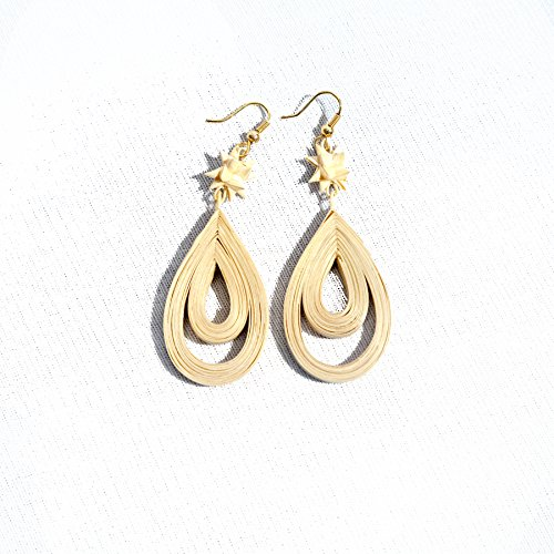 Vasundhara Handloom Bamboo Earrings