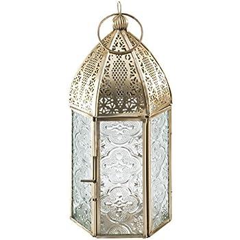Lanterne du Caire pour la batterie r/éguli/ères et bougies