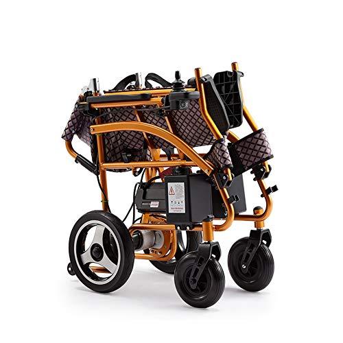 WANGXN Sedia a rotelle elettrica Portatile Leggero Pieghevole Trasporti Viaggi Automatico Intelligente per Sedia a rot