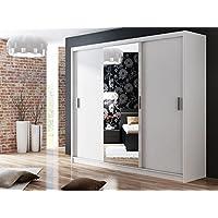 suchergebnis auf f r kleiderschrank weiss breite 250 cm k che haushalt wohnen. Black Bedroom Furniture Sets. Home Design Ideas