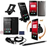 TechEssentials™ Pack de Accesorios para OnePlus One Móvil