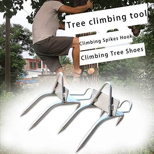 Seasons Shop Größe 45 Kletterspikes Baumkletterwerkzeuge für die Jagdbeobachtung Well-Matched -