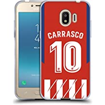 Head Case Designs Officiel Atletico Madrid Yannick Carrasco 2017/18 Joueurs Home Kit Groupe 1 Étui Coque en Gel Molle pour Samsung Galaxy J2 Pro (2018)