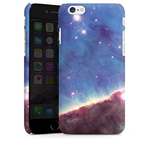 Apple iPhone X Silikon Hülle Case Schutzhülle Gabriela Mistral Nebel Space Galaxy Premium Case matt
