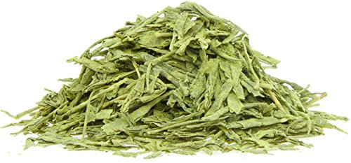 GEHEIMTIPP: Essbarer grüner Tee | 100mal mehr Antioxidantien als gebrühter Tee | Feine Sencha-Blätter verfeinert mit Matcha | Spitzenqualität vom Original | 100% rein – laborgeprüft weit über den