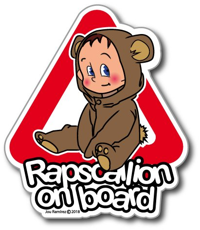 Rapscallion on board (bear)