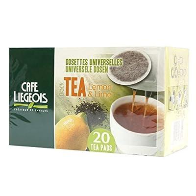 Pack 120 Thé Noir Citron Vert dosettes souples Senseo compatibles