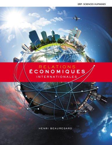 Relations économiques internationales + Edition en ligne + MonLab Etudiant (12 mois)