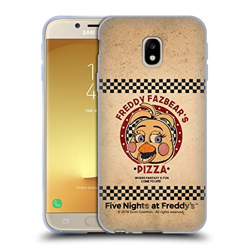 Official Five Nights At Freddy's Toy Chica Freddy Fazbear's Pizza Soft Gel Case for Samsung Galaxy J3 (2017)