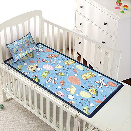 Baby Mat Cartoon Auto Ice Silk Kinderbett Kindergarten Mat Sommer Breathable Nap Baby,150 * 200cm - Königin-könig-speicher