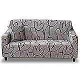 HOTNIU Elastischer Sofa-Überwürfe Antirutsch Stretch Sofaüberzug, Sofahusse, Sofabezug, Sofa Abdeckung Hussen für Sofa, Couch, Sessel in Verschiedene Größe und Farbe (2 Sitzer, Pattern_sl)