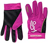 Kookaburra Unisex Energy Hockey Protective Equipment (1 Pair), Pink/Lime, X-Small