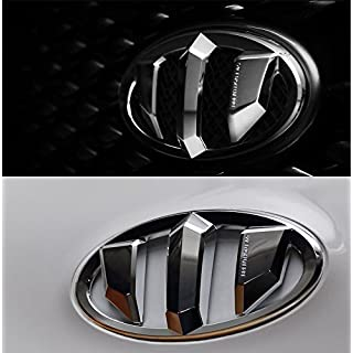 Sell by Automotiveapple, detailpart brenthon vorne Kapuze + hinten Trunk Deckel Heckklappe Horn Gap Lenkrad Emblem Filterlinsen-Set (Set für 2013 ~ 2015 Hyundai Veloster Turbo