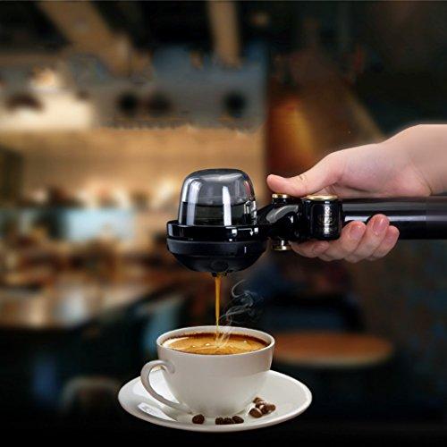Tragbare Kaffeemaschine Mini Espresso Kaffeemaschine Manuelle Hand Kaffeekanne Einfache Bedienung