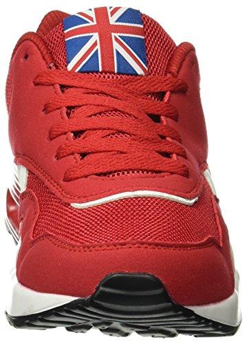 Beppi Sport Shoe, Scarpe Sportive Uomo Rosso (Red)