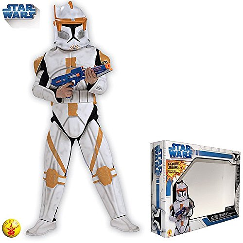 Rubie`s – Disfraz infantil de Clone Trooper Cody con armadura (883393-M)