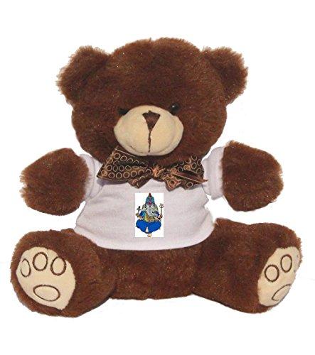 Teddybär mit einem T-Shirt mit der Grafik: Hinduismus