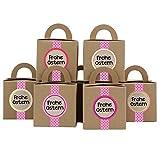 Papierdrachen DIY Osterhasen Kisten mit Washi Tape - Geschenkboxen zu Ostern - Geschenkverpackung zum Befüllen- für Kinder und Erwachsene Dekoration