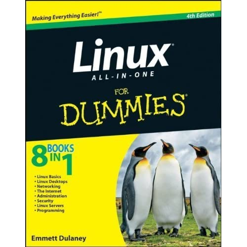 Linux All-in-One For Dummies 4th edition by Dulaney, Emmett (2010) Paperback