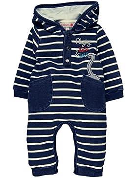 Boboli Unisex Baby Spieler Fleece Play Suit Denim For