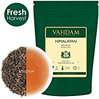 Hojas de té negro del Himalaya imperial para el desayuno, té negro de 100gr aromático y sabroso, té negro de hojas sueltas directamente de la altura, té de hojas