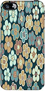 Snoogg Seamless Floral Pattern Flowers Texture Daisy Designer Case Cover For ...
