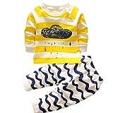 HENGSONG Clouds Impression Garçons Filles Coton Pyjama Bébé Four Seasons Sous-vêtements Ensembles Enfants (73cm)
