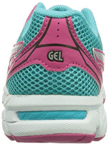 Asics GEL-PULSE 6 GS, Unisex - Kinder Laufschuhe Pink (Rasberry/Silber/Türkis 2193)