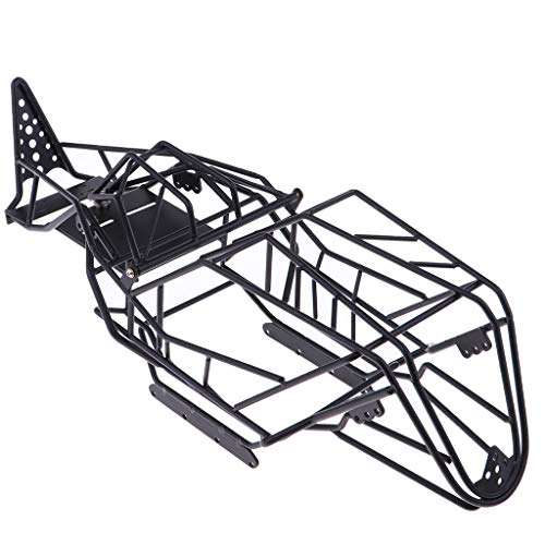 IPOTCH 1/10 RC Car Chassis Karosserie Ersatzteile Für Axial Wraith 90018 (Axial Wraith-frame-upgrade)
