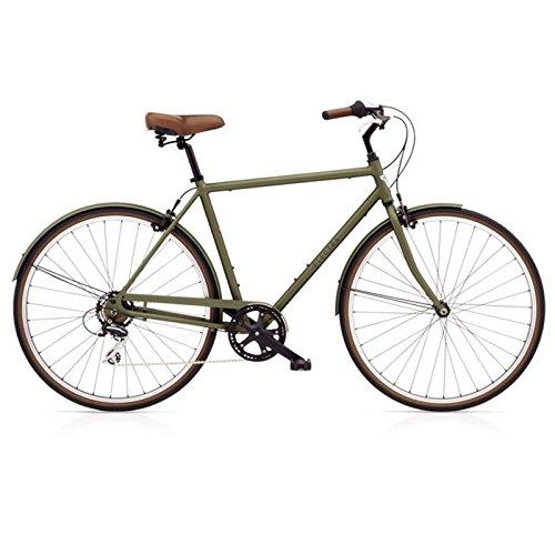 Electra Loft 7D Herren Fahrrad Regular Khaki Grün Stadt Rad Alu Urban City Retro 700C, 529776 - Cruiser Aluminium Beach