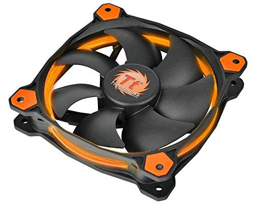 Thermaltake Riing 14 LED PC-Gehäuselüfter orange