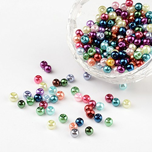 pandahall-lot-de-400-mixtes-perles-rondes-verre-nacre-couleurs-assorties-4mm-trou-05mm