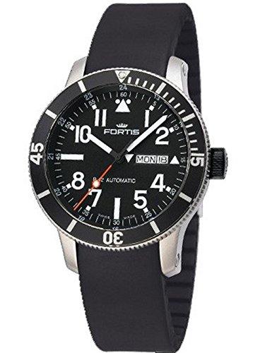 Fortis orologio uomo B-42 Official Cosmonauts Diver Day/Date Titanium...