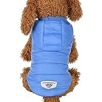 RETUROM Ropa para Mascotas Abrigo Grueso Invierno Acolchado Caliente Chaleco Ropa para Mascotas