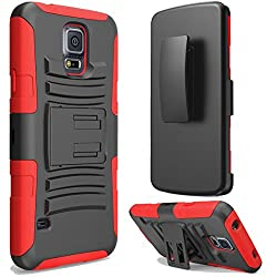 Supad Ultra Slim, Rüstung Stand Schutzhülle für Samsung Galaxy S5: Slim Profil 2-Lagen geschirmt Schutzhülle für Samsung Galaxy S5. Dieser Angelegenheit wird der Empfängnis bis zum Brille uni-corps mit Silikon und einem-, Polycarbonat Schutz. Es ist...