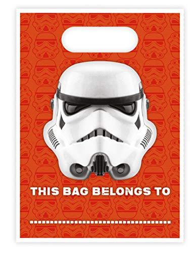 16 Stormtrooper Geschenktüten Star Wars