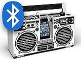 Berlin Boombox Bluetooth Blanc