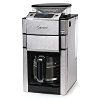 Capresso 487.05 Team Pro Plus Glass Carafe Coffee Maker, Silver