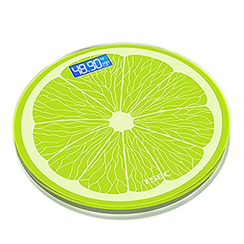 GAYY 180Kg / 400Lb Farbe Smart Digital Skala Gewicht Körper Fett Badezimmer Portable Scale,Zitronengrün Rollator Mit Tablett Tisch