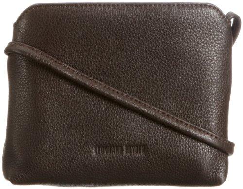 Leonhard Heyden Lh3221 Ladies Zipped Bag, Borsa a spalla donna Marrone
