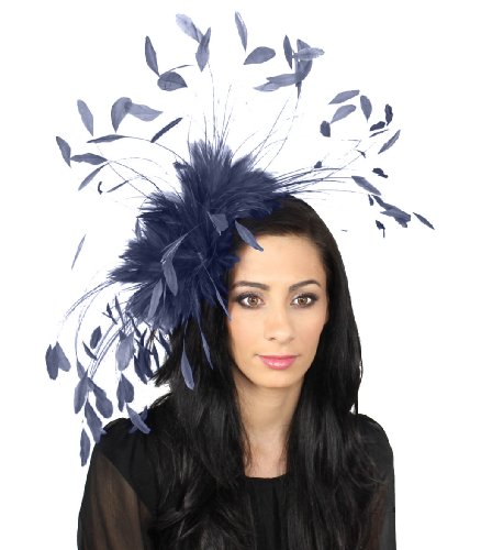 giant-eagle-owl-feather-fascinator-hat-for-ascot-kentucky-derby-weddings-navy