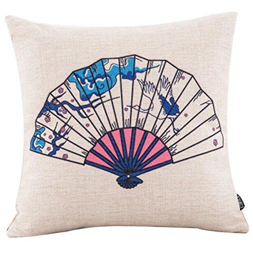 Black Temptation Style Japonais Coussin d'oreiller Confortable pour la Maison/Sushi Restaurant 45x45cm -A26