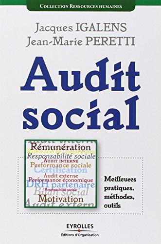 Audit social : Meilleures pratiques, méthodes, outils par Jacques Igalens