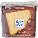 Alfred Ritter: Ritter Sport Chocolate Crunchy biscuits - 5 x 100 g