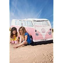 VW T1 Bus Zelt in rosa - Volkswagen Spielzelt für Kinder