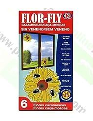 Flor-Fly-Cazamoscas Sin Veneno Flor Fly 6 Uds Ipx
