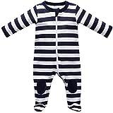 Baby Strampler Schlafanzug mit Füßen Größe 86
